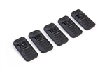 Strike Industries LINK Cover - Black - 5-Pack