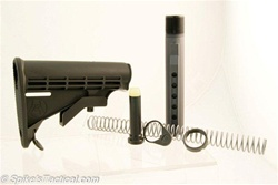 Spike's Tactical AR-15 M4 Complete Stock Kit with T2 Buffer