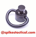 Spike's Tactical AR-15 Push Button Quick Detach Small D-Loop Sling Swivel