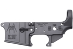 Spike's Tactical AR-15 Lower (Multi) Forged Spider Stripped w/ Bullet Markings
