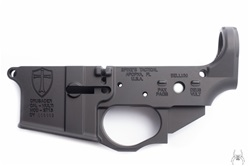 Spike's Tactical AR-15 CRUSADER Stripped Lower Receiver w/ Integral Trigger Guard