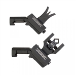 TROY Offset Sight Set, M4 Front and Dioptic Rear - Black