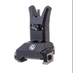 TROY SOCC Low Profile Folding Front Battle Sight W/ Lock Button Black