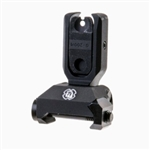 TROY SOCC Low Profile Folding Rear Battle Sight Black