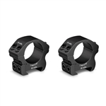 "Vortex Pro Series 1"" Riflescope Rings Picatinny/Weaver Mount, Set of 2"