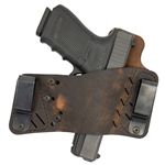 VersaCarry Protector S3 IWB / OWB Holster - Distressed Brown - Right Hand