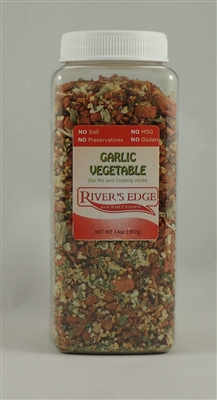 Garlic vegetable - large canister