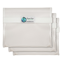 Planet Wise Sandwich Bag Set - Clear