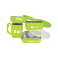 Thinkbaby Feeding Set - Green