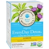 Traditional Medicinals Lemon EveryDay Detox Herbal Tea case