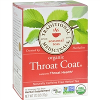 Traditional Medicinals Organic Throat Coat Herbal Tea