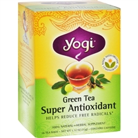 Yogi Tea Green Tea Super Antioxidant