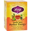 Yogi Perfect Energy Herbal Tea Vanilla Spice case