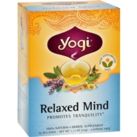 Yogi Relaxed Mind Herbal Tea Caffeine Free case