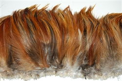 Hackle Fringe - Natural Iridescent