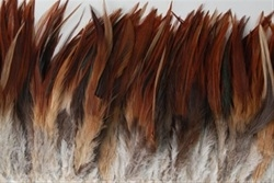 Feather Saddle Fringe