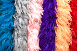 Schlappen Boa - Solid Colors (Dyed)