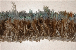 "Strung Pheasant Blue/Green HairyPlumage (per 30"")"