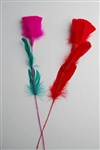 Feather Flower - Rose
