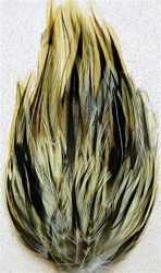 Badger Hackle Feather Pad