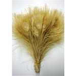 Peacock Bleached Feather Tails