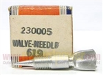 230005 Needle Valve Genuine Briggs & Stratton