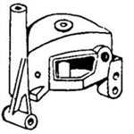 395914 Genuine Briggs & Stratton Starter Housing