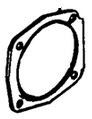 510292A Genuine Tecumseh Blower Housing Base Gasket