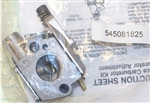 545081825 Poulan Carburetor Assembly