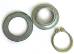 590470 Genuine Tecumseh Recoil Starter Thrust Washer and Snap Ring Kit