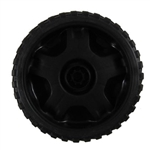 634-04607 - Genune MTD Front Wheel Assembly 7 x 2 Black