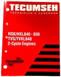 694988 Technician's Handbook for HSK/HXL840-850, TVS/TVXL840 2-Cycle Engines