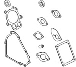 695438- Genuine Briggs & Stratton Complete Gasket Set
