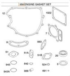 Genuine Briggs & Stratton 699823 Gasket Set