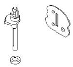 699979 Genuine Briggs & Stratton Choke Shaft Kit