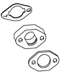 715120 Genuine Briggs & Stratton Carburetor Spacer