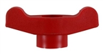 720-04124 MTD Troybilt Wing Knob (Red), 5/16-18