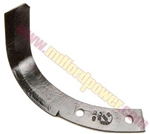 "Genuine MTD 742-04118-0637 12"" Standard Right Curved Bolo Tine"