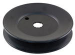 756-1187 Genuine MTD Deck V-Pulley, 5 inch Diameter
