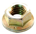 912-0431 Genuine MTD Hex Flange Lock Nut, 3/8-24