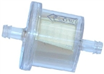 "R10352 - 1/4"" Line High Flow Fuel Filter with Polymer treated paper screen - 80 Microns"