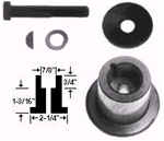 "R1237 - 7/8"" Blade Adaptor Kit Replaces Murray 442735"