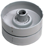 R2190 Flat Idler Pulley IP3620 Without Flange