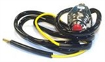 "R2946 Uiversal Style Kill Switch with 48"" lead wire for go-carts & ATV's fits 7/8"" & 1"" frames"