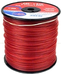 R3509 -  .095 x 840' Red Commercial Trimmer Line - 3LB SPOOL
