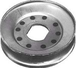 R438 Engine Pulley Replaces Snapper 7028779YP (Square ID)