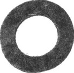 R440 Felt Washer for Wheel Bolt Replaces Lawnboy 605255