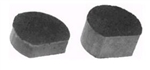R490 - Flat-End Replacement Brake Pucks