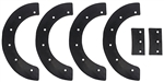 R5533 Snowblower Paddles Replaces Murray 302565MA