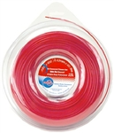 R5928 - .080 X 400' Red Commercial Trimmer Line - 1 LB. DONUT